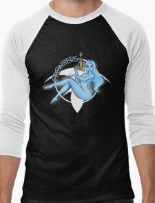 Jil Frontiers pin-up (for dark background) Men's Baseball ¾ T-Shirt