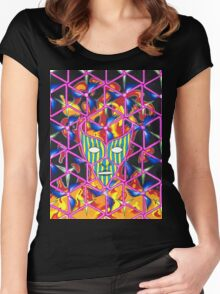 Ego Death Women's Fitted Scoop T-Shirt