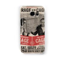 The Rage in the Cage Poster Samsung Galaxy Case/Skin