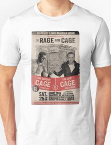 The Rage in the Cage Poster T-Shirt