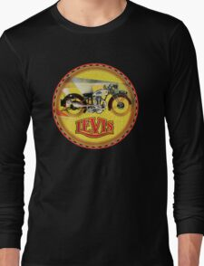 LEVIS Vintage Motorcycles Long Sleeve T-Shirt