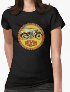 LEVIS Vintage Motorcycles Womens Fitted T-Shirt
