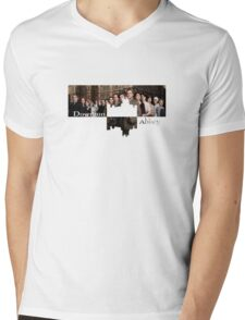Downton Abbey Mens V-Neck T-Shirt