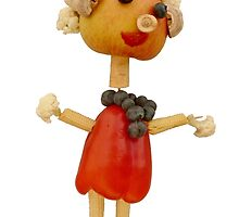 The Veggies, Polly Pepperbody by Yampimon