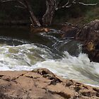 Murray River in a rush by BigAndRed
