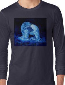 Blue Prince Charming, the Polar Bear  Long Sleeve T-Shirt