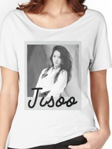 Black Pink - Jisoo Women's Relaxed Fit T-Shirt