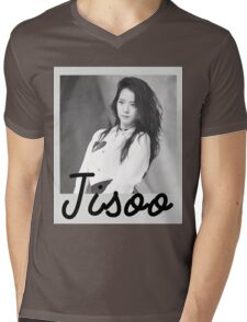 Black Pink - Jisoo Mens V-Neck T-Shirt