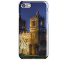 Nighttime at San Juan Mission iPhone Case/Skin