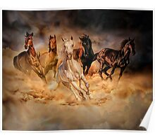 Only dust from under the hooves Poster