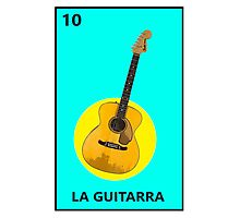 La Guitarra Photographic Print