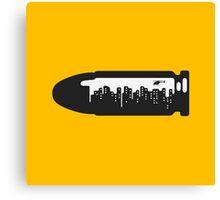 Bullet City Canvas Print