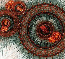 Fiery  clockwork by MartinCapek