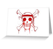 Monkey D. Luffy  Greeting Card