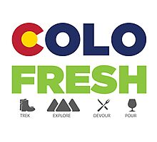 COLOFRESH! Photographic Print
