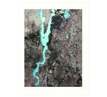 Melting Glaciers in Spitzbergen Art Print