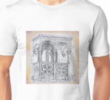 VARANDIM TORRE DE BELÉM. balcony at Belém Tower Unisex T-Shirt