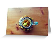 Rural citrus Greeting Card