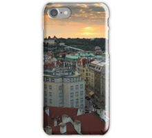 Prague Sunset iPhone Case/Skin
