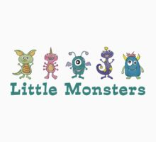 Little Monsters One Piece - Short Sleeve