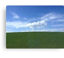 Simple Landscape Canvas Print