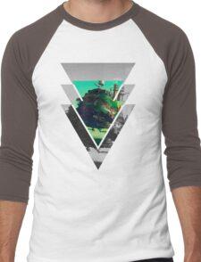 Howls Moving Castle- Studio ghibli Men's Baseball ¾ T-Shirt
