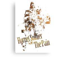 Hornet Soldier - The Pain Canvas Print