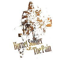 Hornet Soldier - The Pain Photographic Print