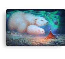 Ursa Major and Ursa Minor Canvas Print