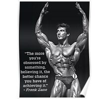 Obsession - Frank Zane Motivation Poster