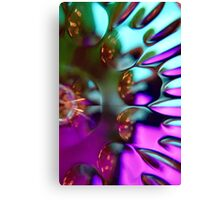 Sparked Intensity Canvas Print