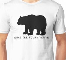 Save the Polar Bears! Unisex T-Shirt