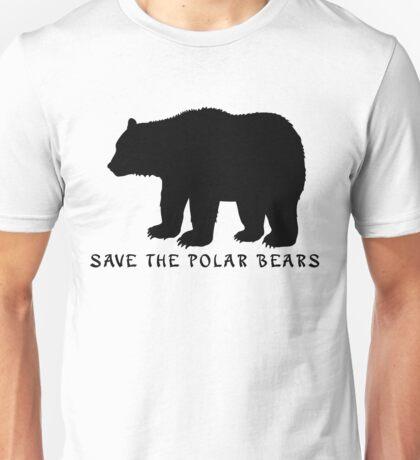 Save the Polar Bears! Unisex T-Shirt