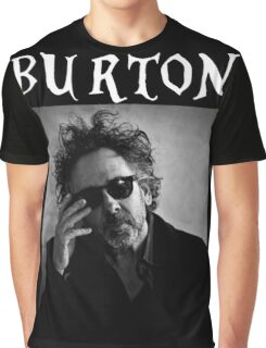 Tim Burton - Portrait Graphic T-Shirt