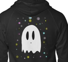 Ghostly Zipped Hoodie