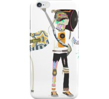 Muster Basster iPhone Case/Skin