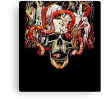 Squirm Canvas Print