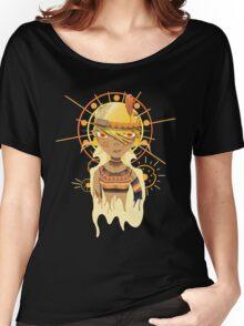 Aum Women's Relaxed Fit T-Shirt