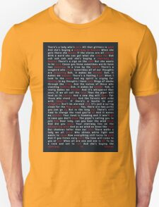 Led Zeppelin - Stairway to Heaven Unisex T-Shirt