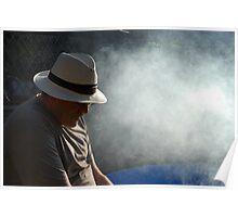 Peebles Smoky Barbecue Poster