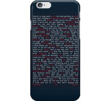 Led Zeppelin - Stairway to Heaven iPhone Case/Skin