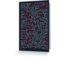 Led Zeppelin - Stairway to Heaven Greeting Card