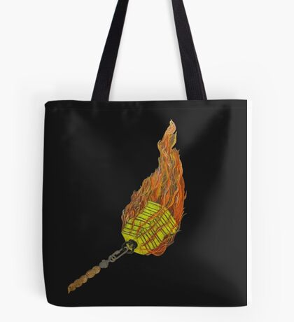 Fire chains Tote Bag