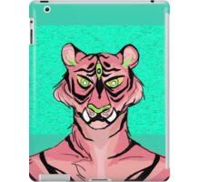Pink Tiger iPad Case/Skin