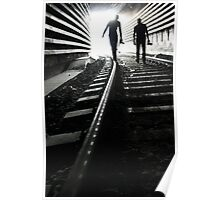 In the tunnel Poster