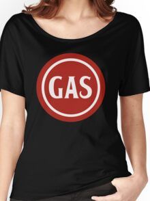 Retro Gas Station Women's Relaxed Fit T-Shirt