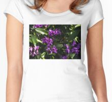 Orchid plant Women's Fitted Scoop T-Shirt