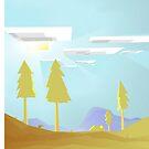 Minecraft Landscape by Sirkib