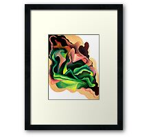 Abstract Vibrance Framed Print