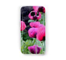 Poppies Samsung Galaxy Case/Skin